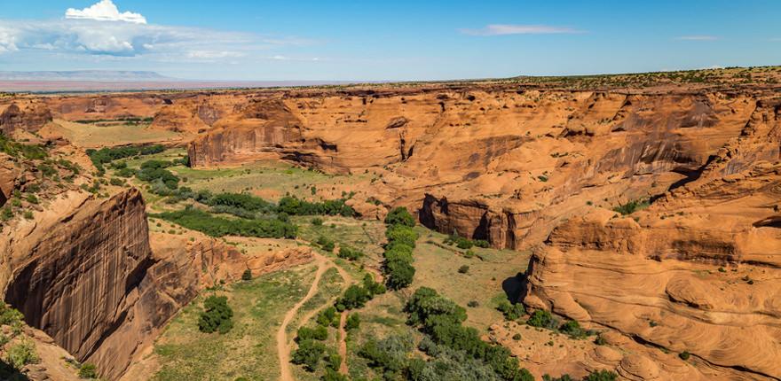 US-Nationalpark: der Grand Canyon in den USA
