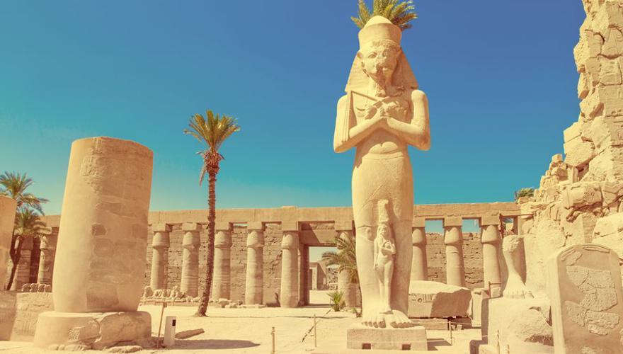 Karnak Tempel in Aegypten