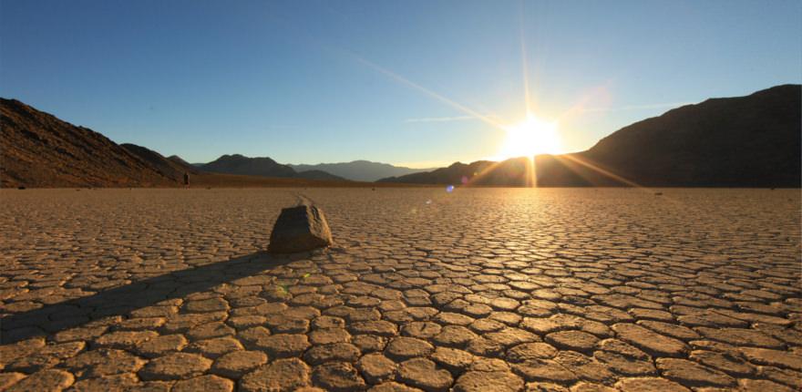 Nationalpark in den USA: Die landschaft des death valley