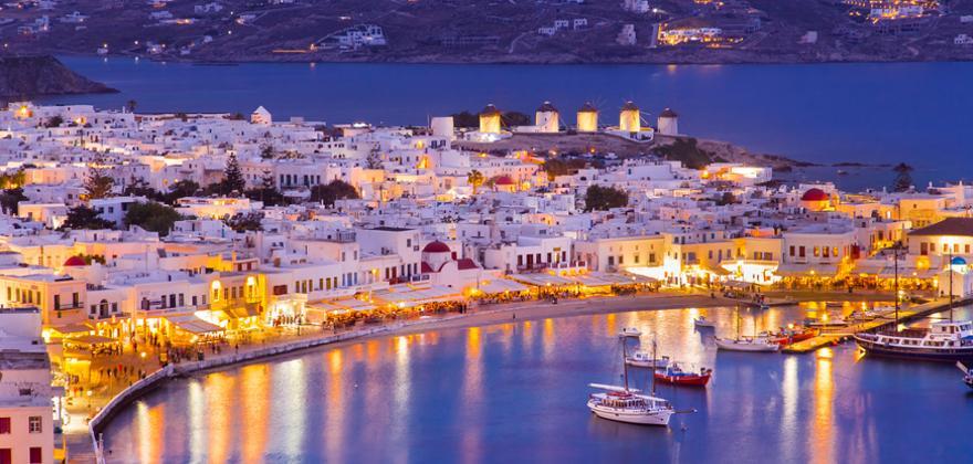 mykonos in Griechenland