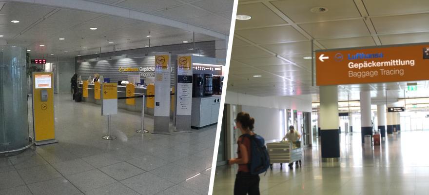 Gepäckvermittlung Lufthansa München