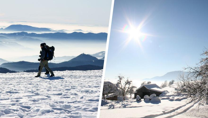 Wandern und Skifahren in Slowenien