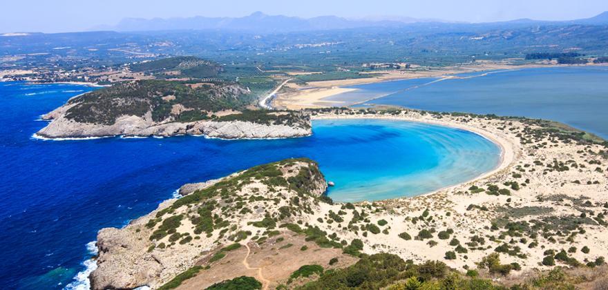 Voidokilia strand griechenland