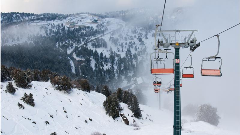 Troodos Skigebiet