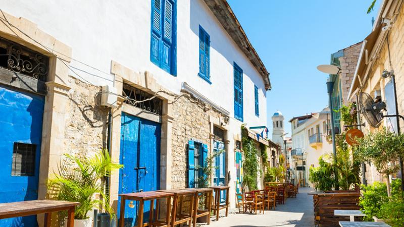 typische Häuser Zypern