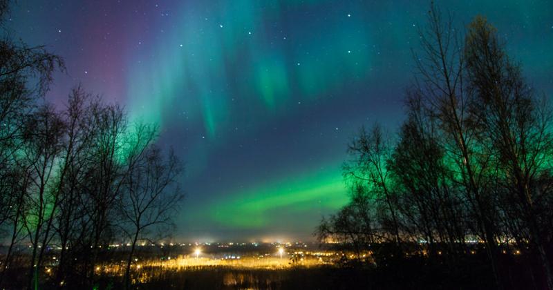 nordlichter in schweden