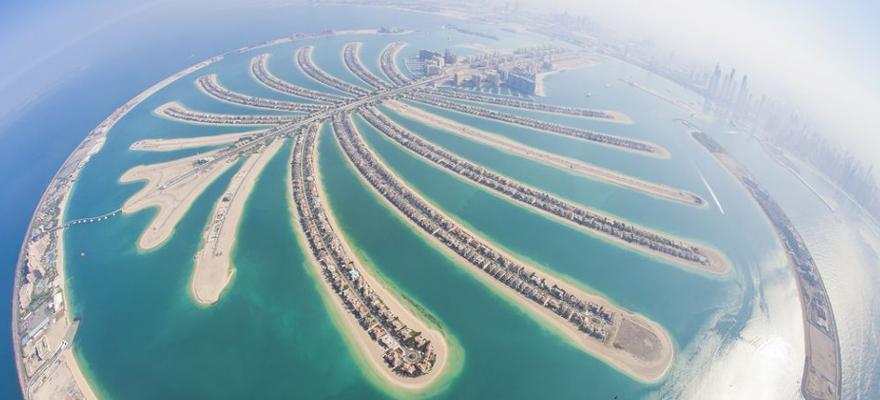 The Palm in Dubai in den VAE