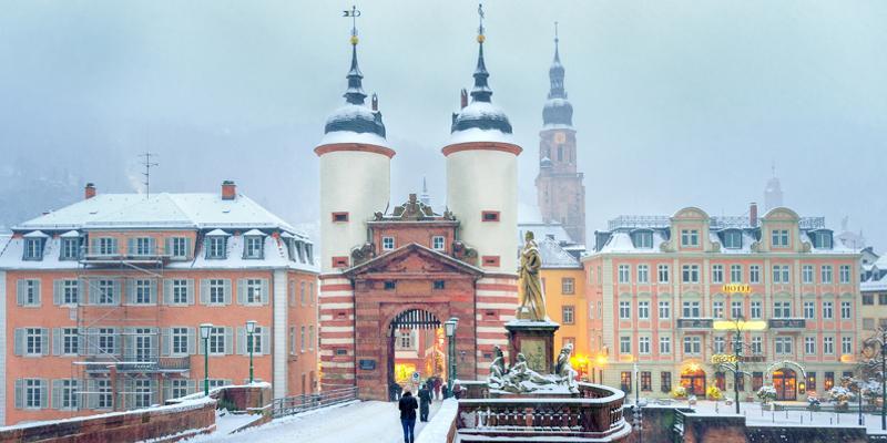Heidelberg im Winter