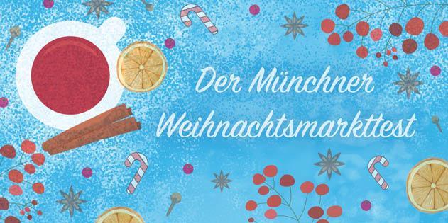 München Weihnachtsmarkt.Der Weihnachtsmarkt Test Für München