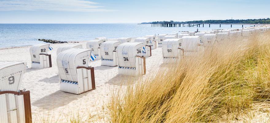 Nordsee-Kueste in Deutschland