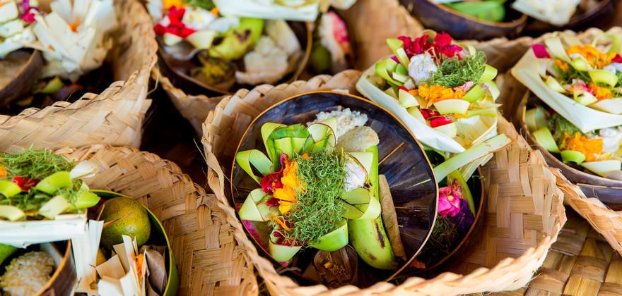 Gericht in Bali