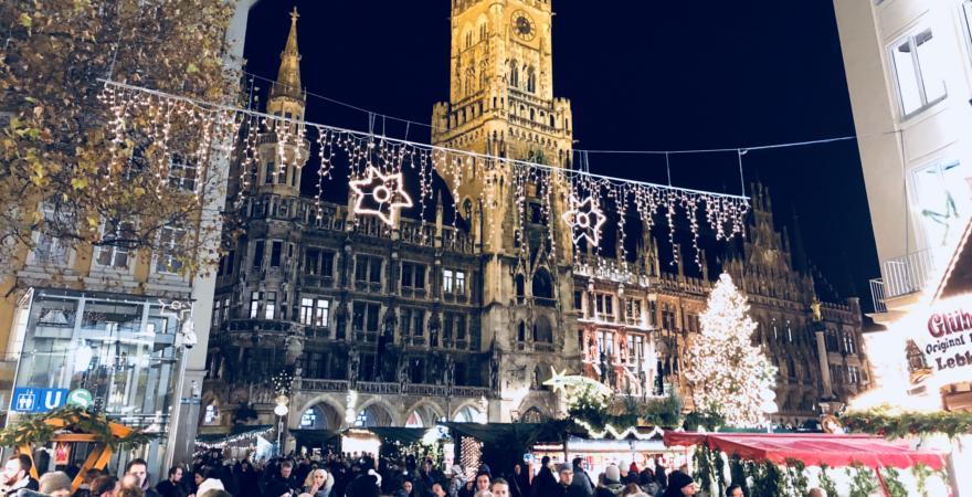 Marienplatz Weihnachtsmarkt.Der Weihnachtsmarkt Test Für München