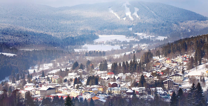 Skigebiet Zelezna