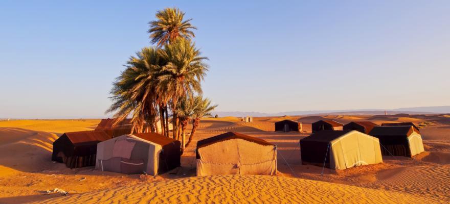 Wüstencamp Marokko