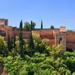 Alhambra in Andalusien in Spanien