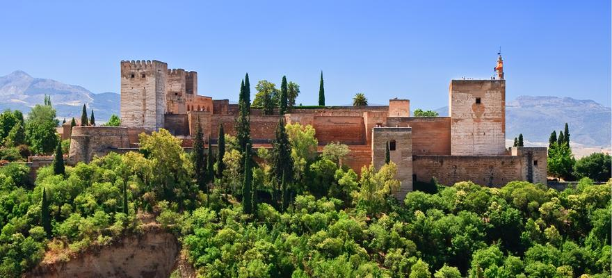 Alhambra in Andalusien in Spanien