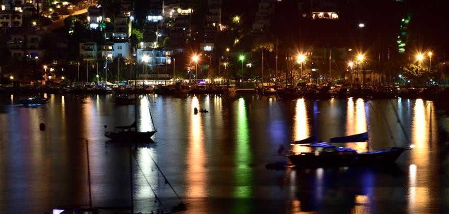 Bodrum bei Nacht