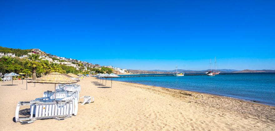 camel beach in bodrum