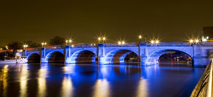 Brücke Fluss