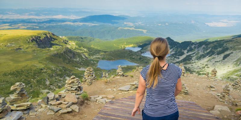 Berglandschaft Bulgarien