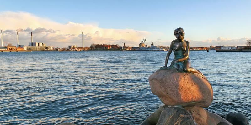 Statue Meerjungfrau