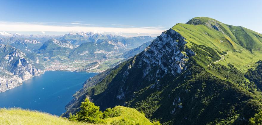 monte baldo am Gardasee in Italien
