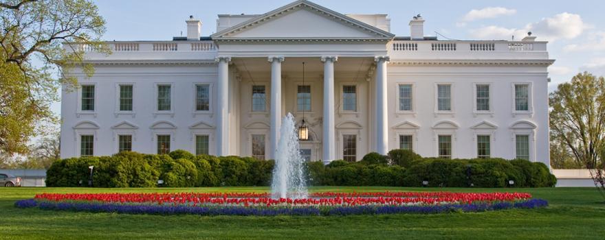 weiße Haus in Washington D.C