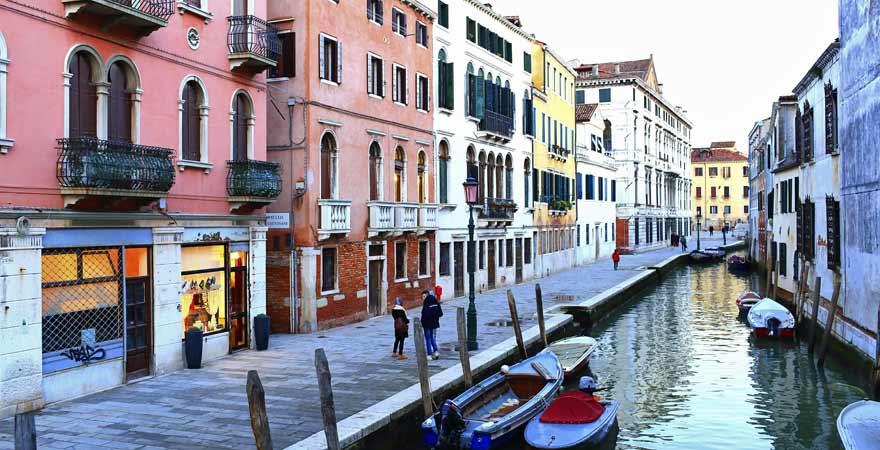 Canareggio in Venedig in Italien