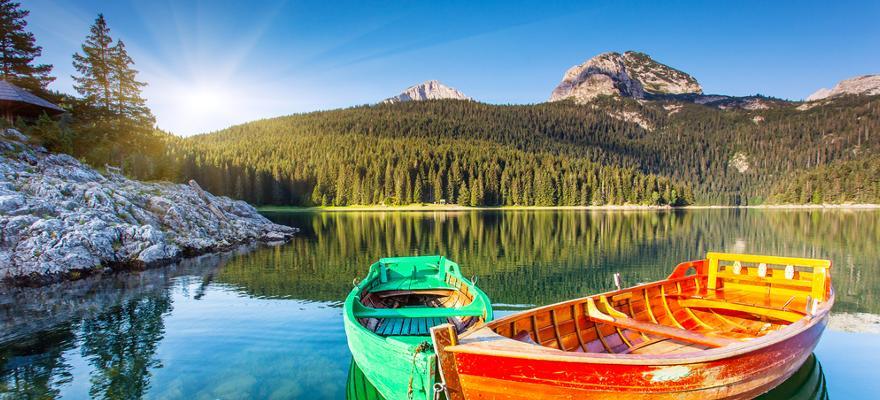 Durmitor Nationalpark in Montenegro.