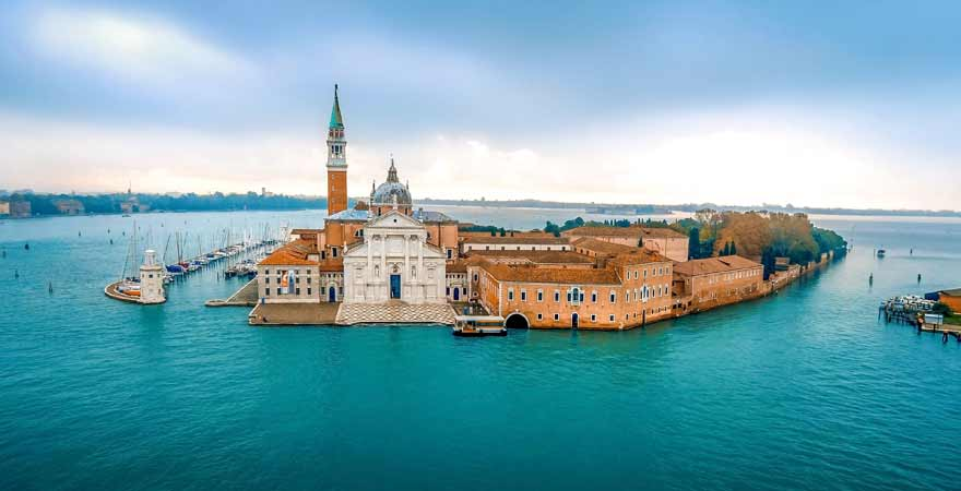 Insel San Giorgio in Venedig in Italien