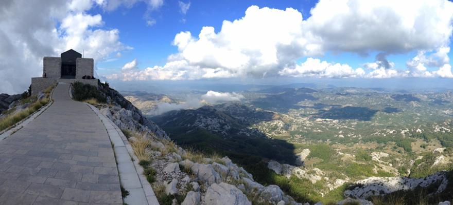 Lovcen Nationalpark in Montenegro