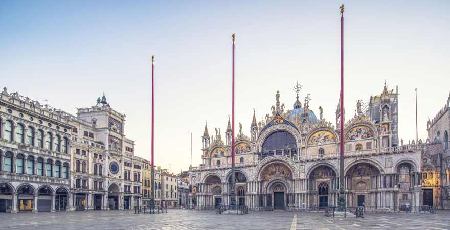 Markusdom in Venedig in Italien