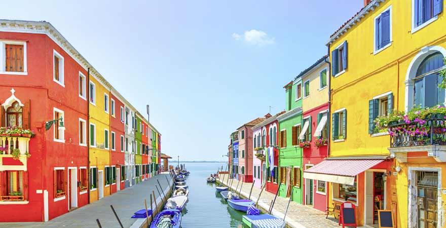 Murano in Venedig in Italien