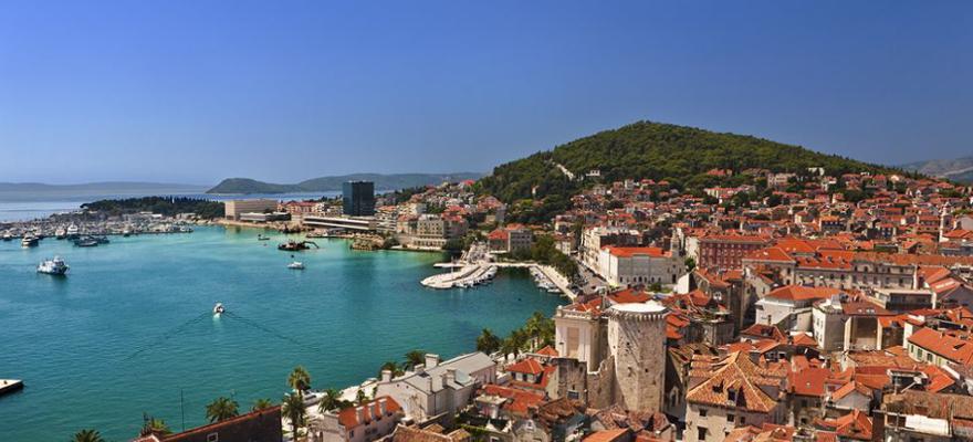 Split in Kroatien