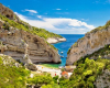 Strand in Damlmatien, Kroatien
