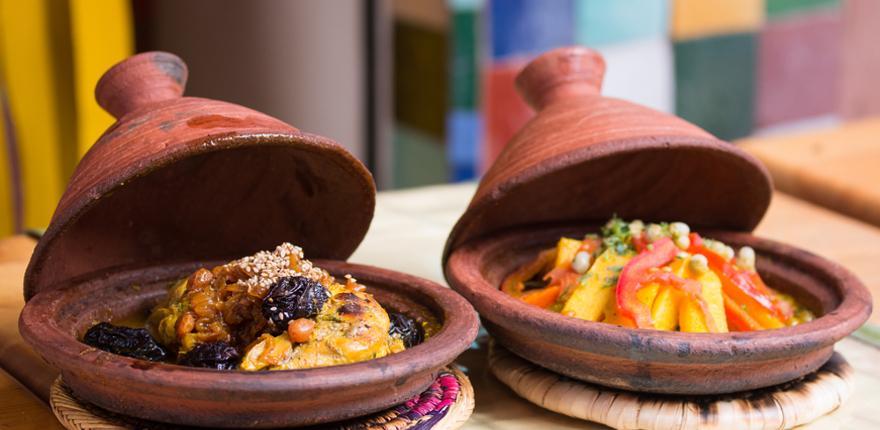 Essen und Trinken in Marrakesch