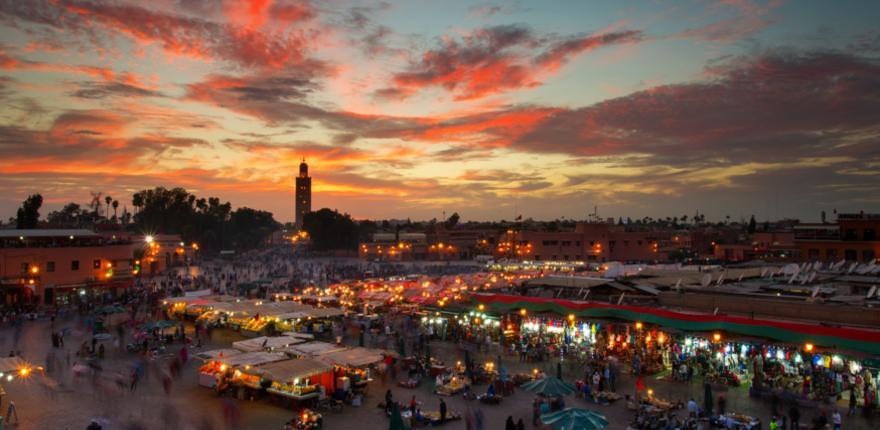 Gauklerplatz in Marrakesch