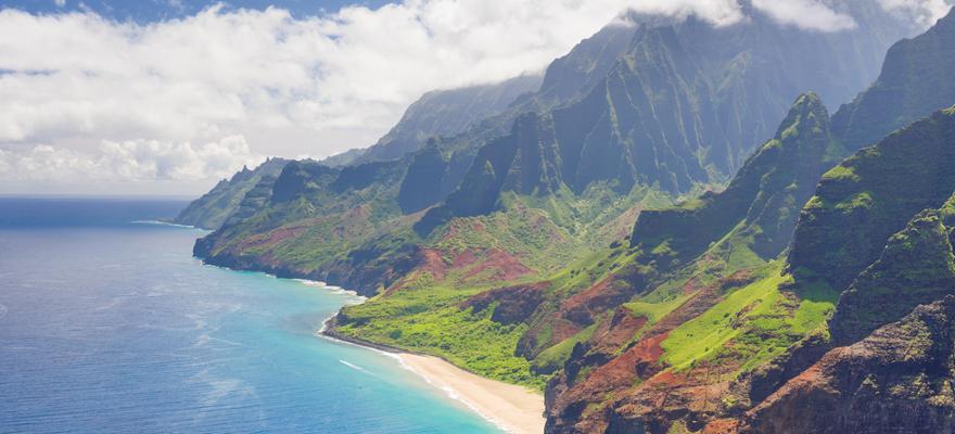 küste hawaii kaui