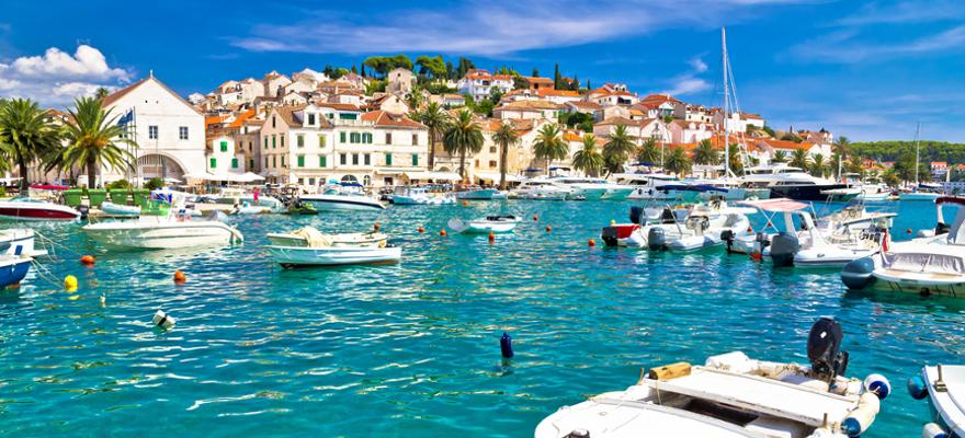 Insel Hvar in Dalmatien