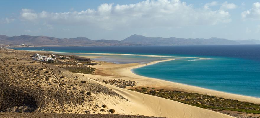Strand Risco del Paso auf Fuerteventura