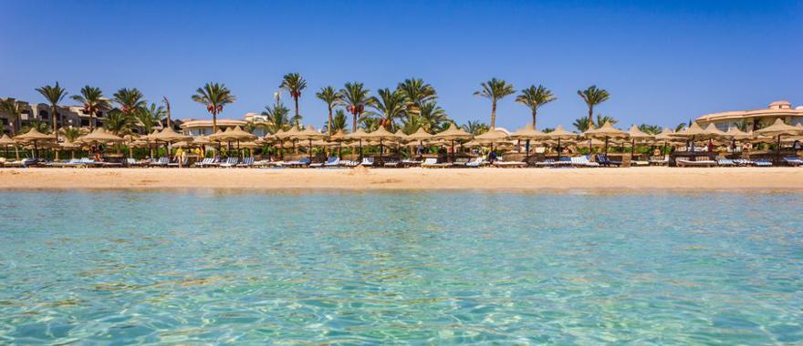 Strand in Aegypten