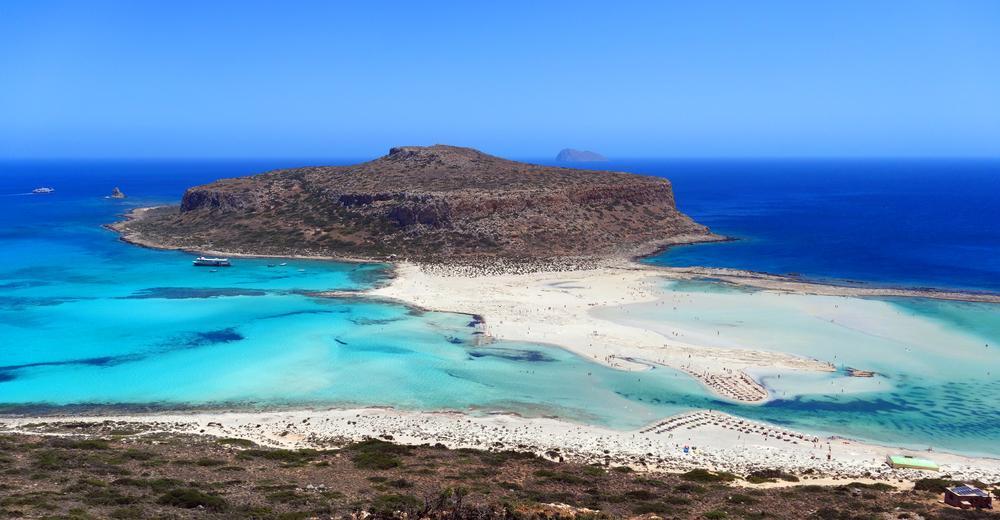 Balos Beach auf Kreta in Griechenland