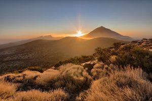 Bergpanorama-Teneriffa