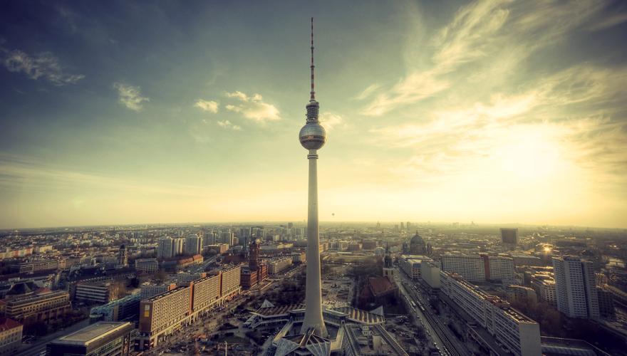 Berlin mit seinem Fernsehturm