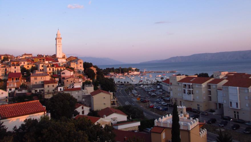 Kroatien, Sonnenuntergang, Urlaub