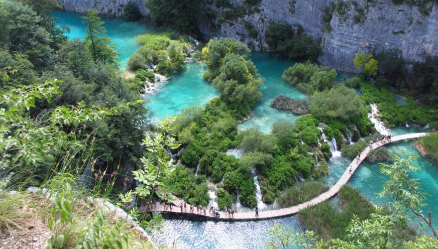 Kroatien, Nationalpark, Urlaub, Plitvicer Seen