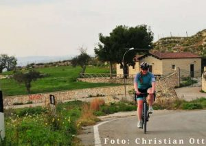ciclista in sizilien