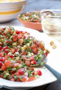 Loeffelsalat-tuerkisches-essen