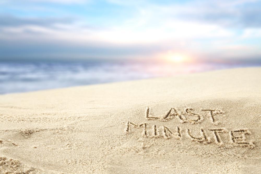 Last-minute-strand