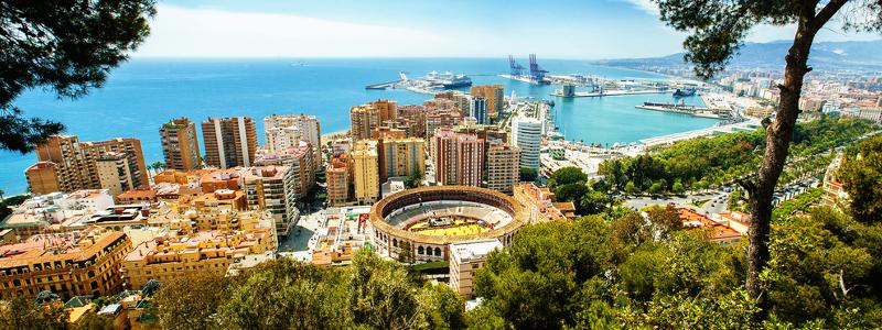 Malaga Ausblick